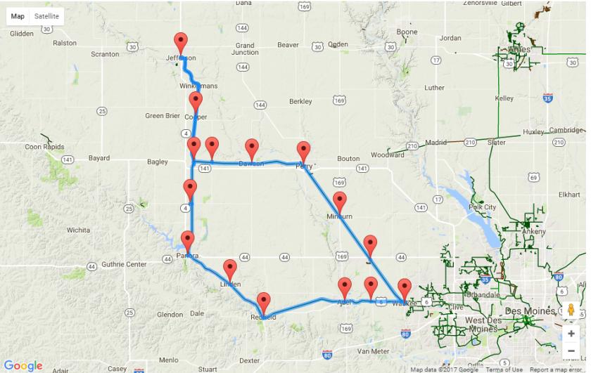 RRVT Map
